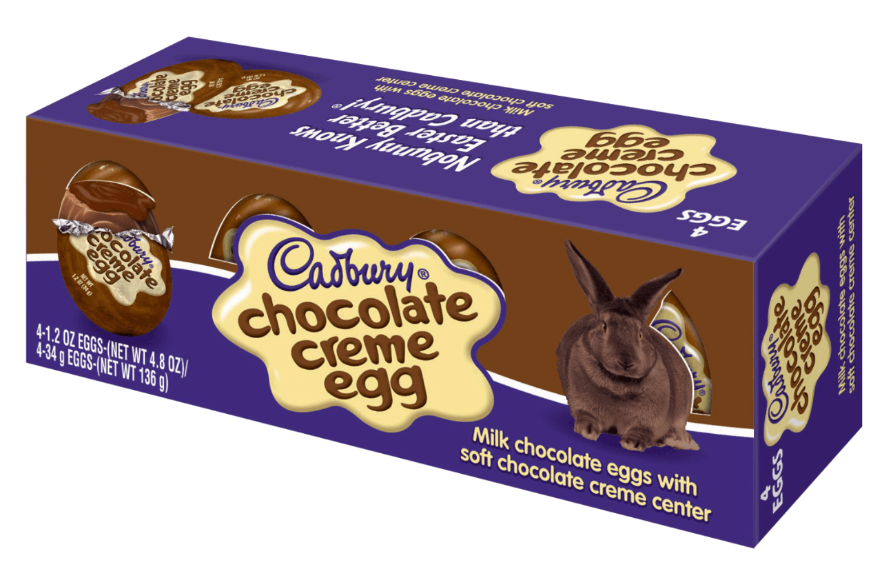 The Hershey Company | CADBURY Chocolate CRÈME EGG, 4.8 oz.