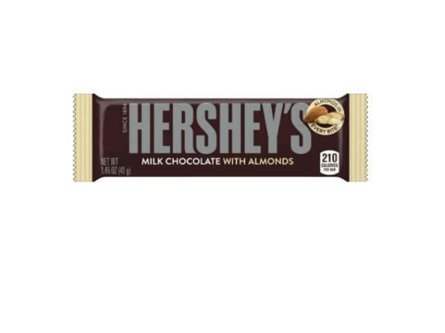HERSHEY'S Milk Chocolate with Almonds Bar Vend & LSC