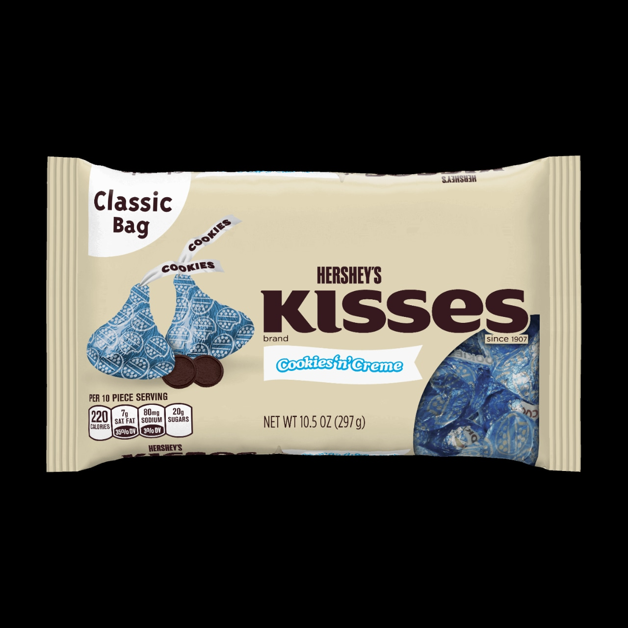 The Hershey Company | Hershey's KISSES Cookies 'n' Creme Candy ...