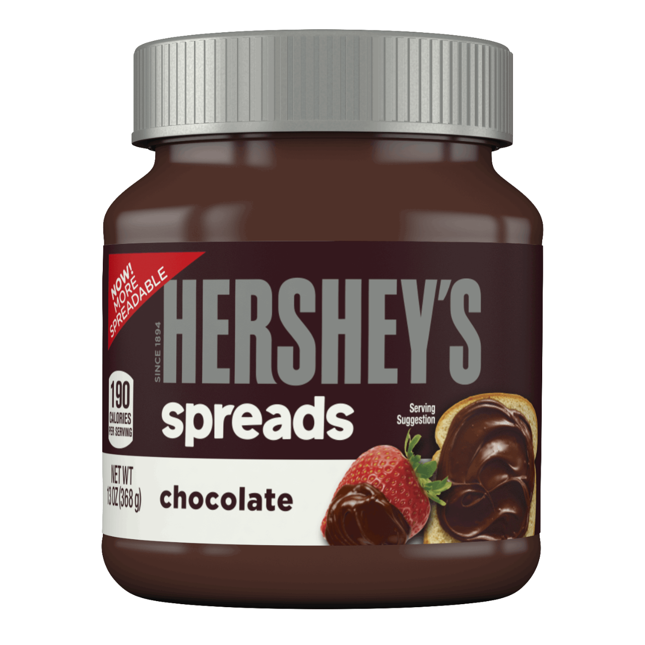 The Hershey Company | HERSHEY'S Spreads in Chocolate Flavor, 13 ...