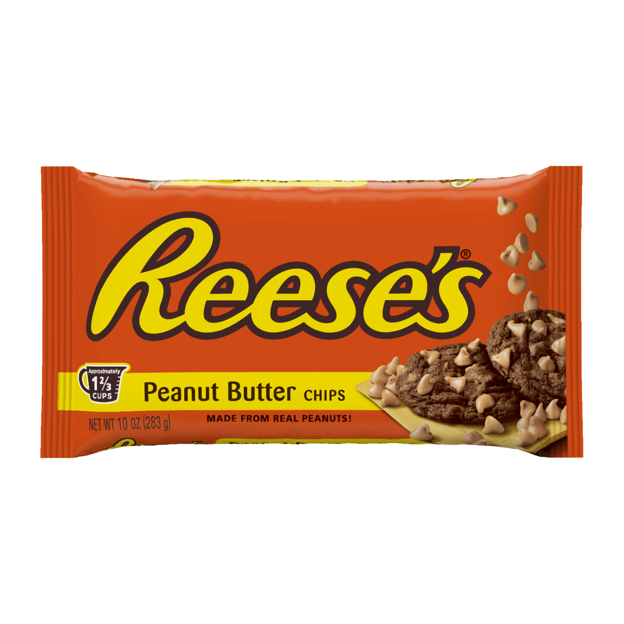 en us products product reeses peanut butter baking chips ounce bag.