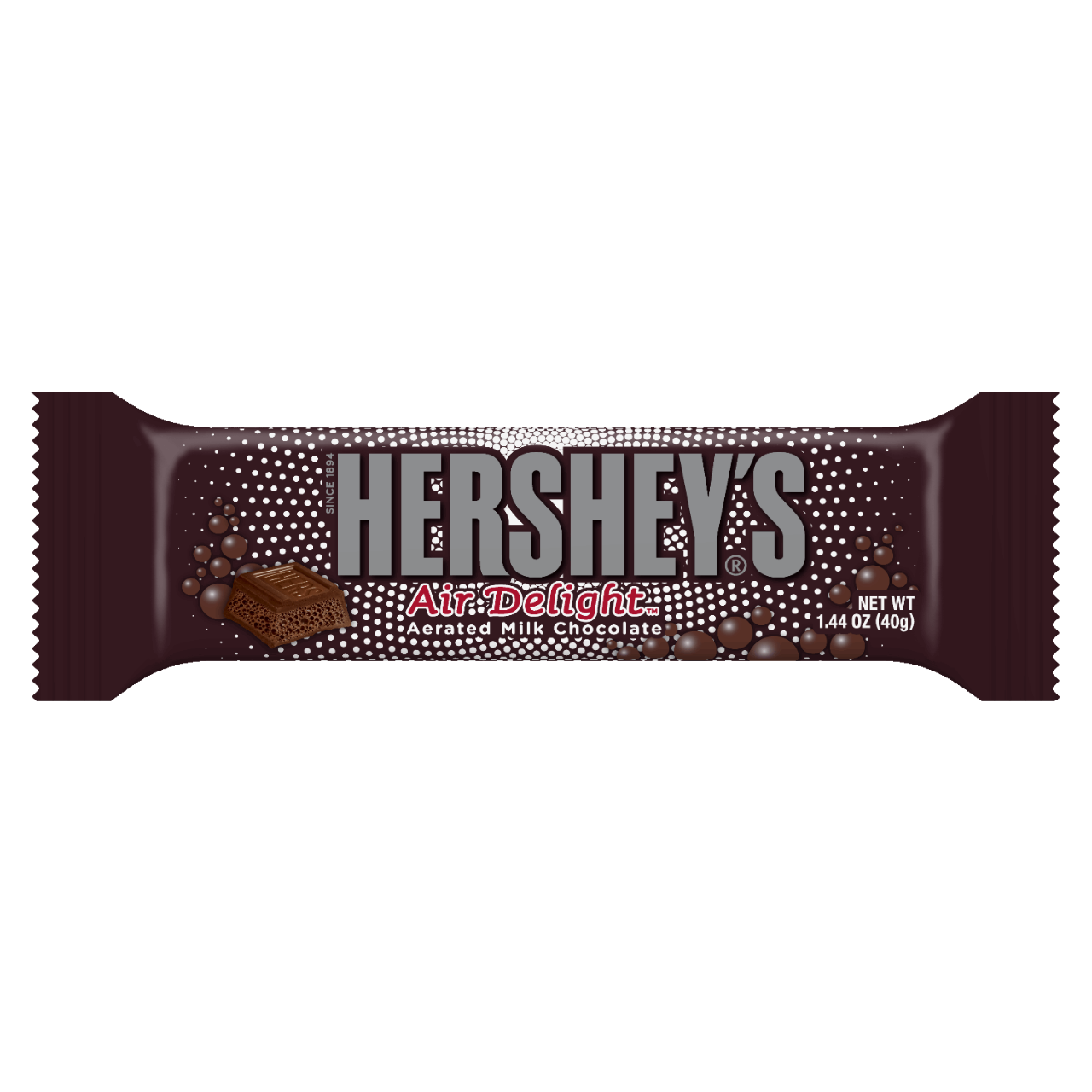 The Hershey Company | HERSHEY'S AIR DELIGHT Aerated Milk Chocolate ...