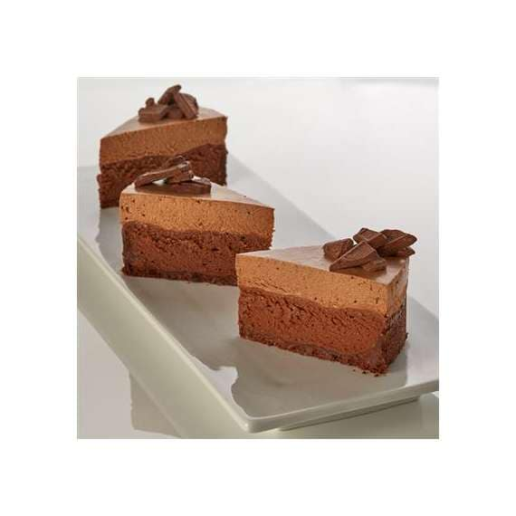 Double Chocolate Mousse Cheesecake